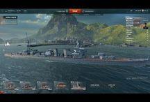 Крейсеры Японии World Of Warships / Одни из моих первых работ, простенькие обзоры на крейсеры Японии с ЗБТ World Of Warships.