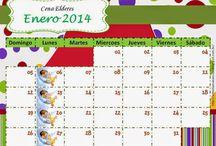 Calendarios de almoço