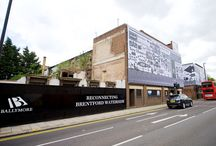 Building Wrap | Ballymore - Brentford Town Centre Regeneration / Like what you see? Talk to us about your next brand activation project today. www.octink.com