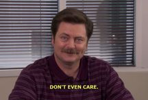 Ron Swanson / by TaushaT