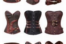 Steampunk and corsets / Nice corsets