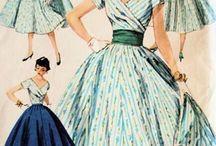 50's fashion style
