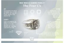 DIAMONDS ARE A GIRL'S BEST FRIEND / We've searched Pinterest to find the very best pins on our board topic - DIAMONDS. Happy pinning!  For more visit / www.wilkinsjewellers.co.uk