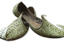 Men Khussa Shoes / Men's khussa are handmade by skilled artisans in remote corners of India and Pakistan. Men's Khussa shoes are made in numerous colors, designs and styles. Khussa shoes are famous for their finest embroidery works.