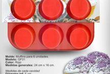 Moldes de silicona / Moldes de silicona para repostería y pastelería