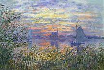 Monet égbolt