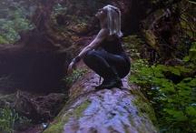 Inspiration - las / Leśne zdjęcia / modelka w stroju lub akt Fantasy również