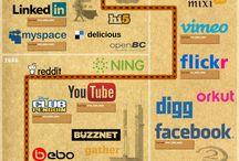 Social Media Graphics / Raccolta di infografiche attorno ai temi del smm