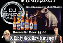 Red Cup Retro Thursday  @ Paparazzi Night Club Victoria / DJ Daddy Mack highlights todays top hits with yesterdays #1 dance club hits 80's & 90's