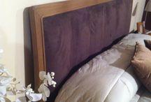 Le Fablier Fior di loto...un sogno / Camera letto completa in finitura zenzero e laccato,opaco corda letto con testata in ecopelle.