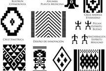 diseño mapuche simbolos