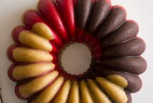 bundt, sponge and muffin