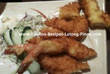 Fish and Seafoods Filipino Recipes Lutong Pinoy Talaga!