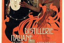 Libations that warm the heart / Vintage posters associated with a good time / by Debrink