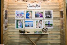 Wedding Photographer Booth Setup at a Bridal Show in Utah