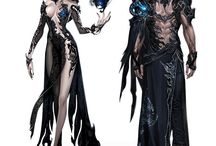 Aion Characters and Weapons