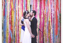 Weddings: Colorful & Vibrant  / This wedding board is to inspire the vibrant personality of those brides who are looking for a little more color. I hope you enjoy.