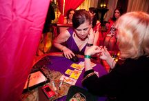 Party event psychics astrology tarot readers