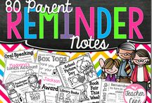 Notes to Parents