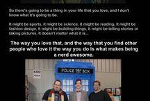 I am a geeky nerd girl