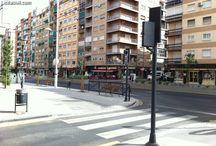 Metro Granada estado obras 3 agosto 2013 / Estado de las obras en el tramo del Camino de Ronda de las obras del Metro Granada. 03/08/2013