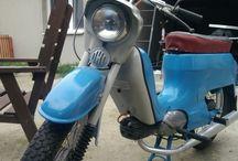Renovace, opravy a restaurování / Motocykly na jejich životní kapitole jsem se podílel.