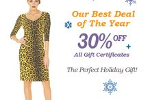 NOW on Sale Eva Varro Gift Certificates 30% Off! www.evavarro.com / NOW on Sale Eva Varro Gift Certificates 30% Off! Get Them Just in Time For Christmas at www.evavarro.com Happy Holidays From All of us at Eva Varro!