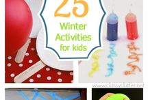 Winter / Winter ideas, activities and decorations