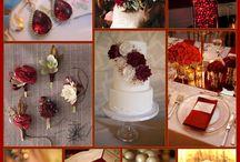 Marsala wedding style