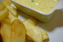 receita de molho para batata frita