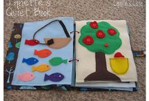 Felt projects and quiet books / by Jennifer Meizen