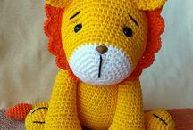Leão croche