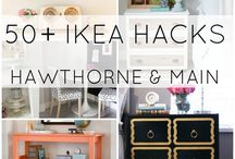 Home Decor _ DIY IKEA Hacks / by Rosa Chaves