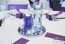 Purple / Purple is such a favourite colour for weddings.