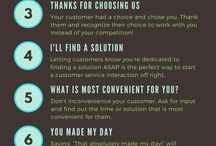 customer service tips & tricks