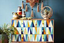 Annie Sloan triangles