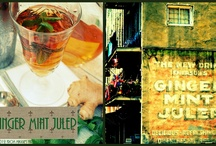 Lolling About the Quarter: Ginger Mint Julep