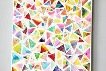 Tableau géométrique.....etc..