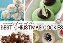 christmas cookies and cakes