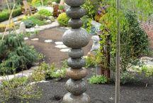 Kamene v zahrade