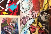 Мое творчество / Живопись, графика и иллюстрации созданные мною.
