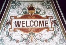 Mosaic Doorways / We designed branding for Kirkdale High Street and based part of the design on the thresholds of the grade 2 listed shops in the road. We have always liked these beautifully crafted mosaics on the entrance to shops and wanted to share some of them (images are sourced from various internet sites and some our what we have collected).