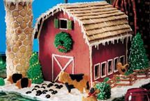 Gingerbread House Farms & Country Scenes