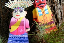 Indonesian Paper Toy