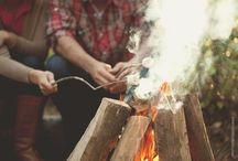 Bonfire Party Theme / .