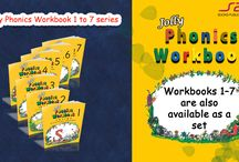 Jolly Phonics / Jolly Phonics is a fun and child centered approach to teaching literacy through synthetic phonics.