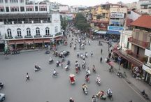 Hanoi, Vietnam / Capital of the Socialist Republic of Vietnam and economic center of the country. City rich in colonial architecture with more than 600 Buddhist temples and pagodas. Mix of tradition and modernity