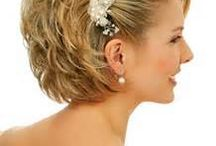 Bride - short hairstyle