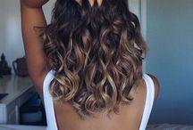 félhosszú hajak