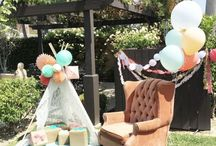 Birthday decor outdoor